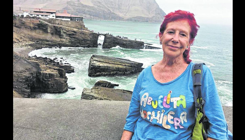 Kandy García, abuelita mochilera viaja sola Vuelta al mundo