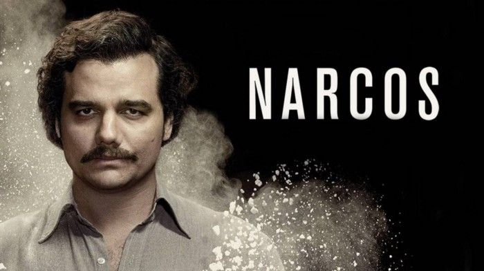 Cover picture of the serie Narcos of Netflix.