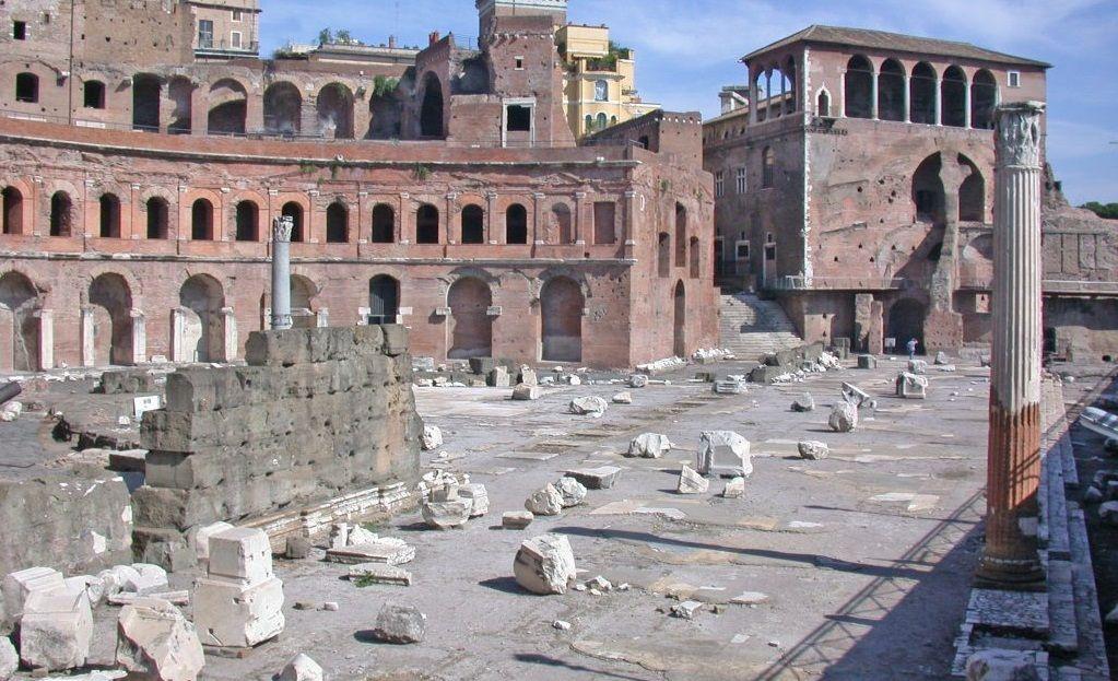 Mercado y Foro Trajano, Roma