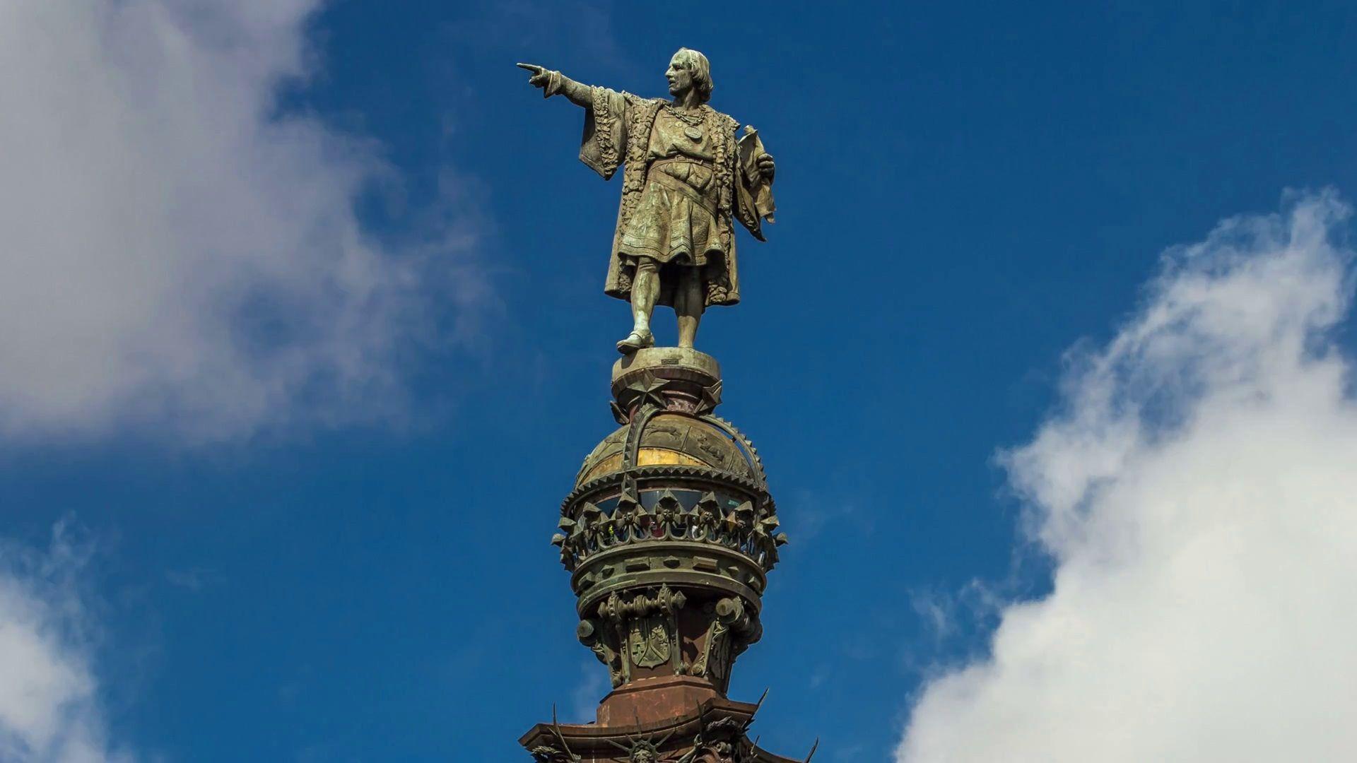 Monumento a Cristobal Colón (mirador en Barcelona)