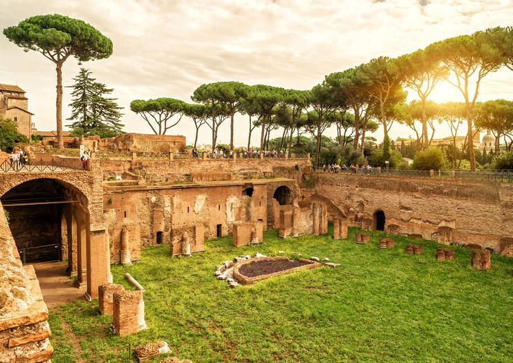 Palatine Hill in Rome