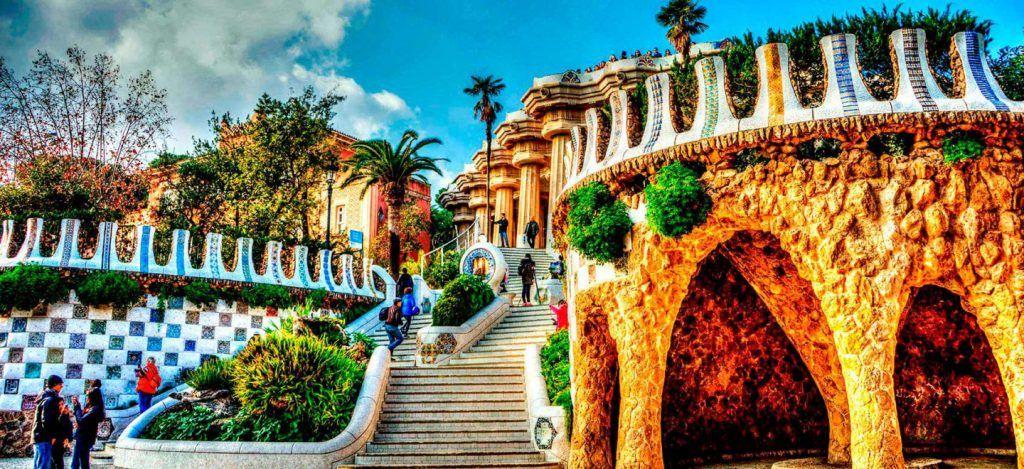 Park Güell, sitios para ver en Barcelona