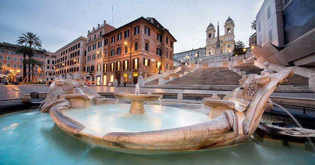 Piazza di Spagna (Spanish Steps), Rome