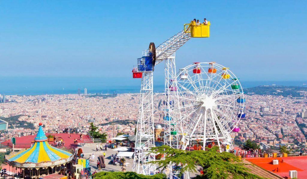 Parque de atracciones Tibidabo, Barcelona