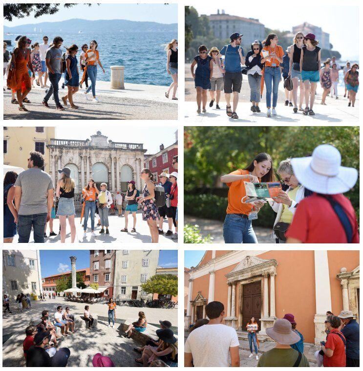 Fotos tomadas durante un free tour en Zadar, Croacia.