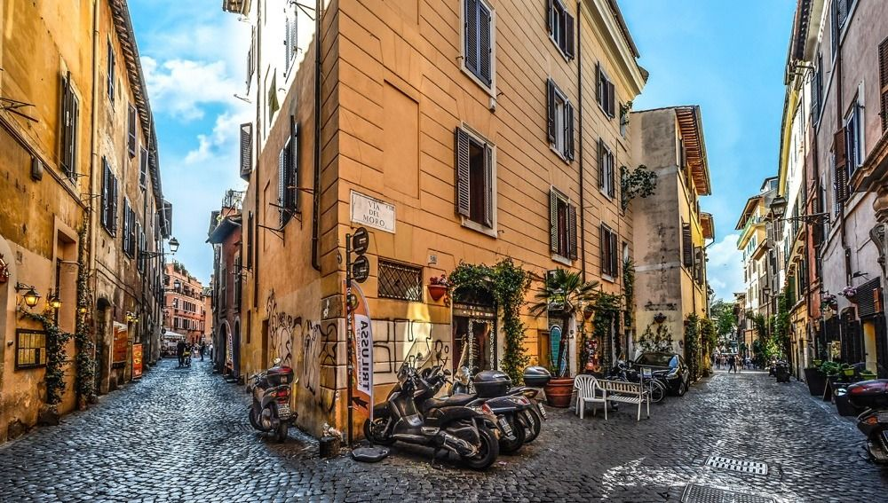 Trastevere Neighborhood, Rome