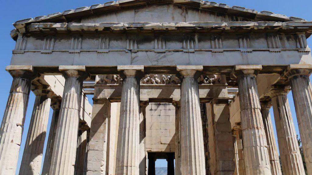 Ágora Antigua de Atenas, Grecia