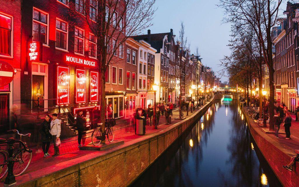 Barrio Rojo, Ámsterdam