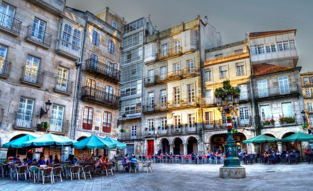 La calle de las Ostras, Vigo