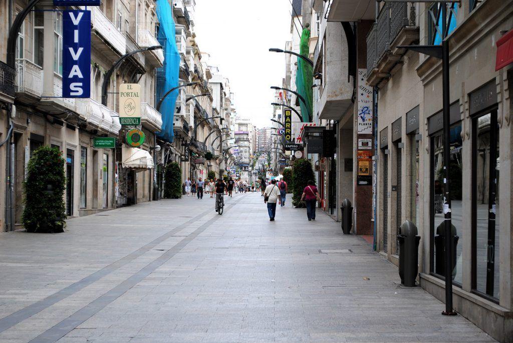 La calle del Príncipe, Vigo
