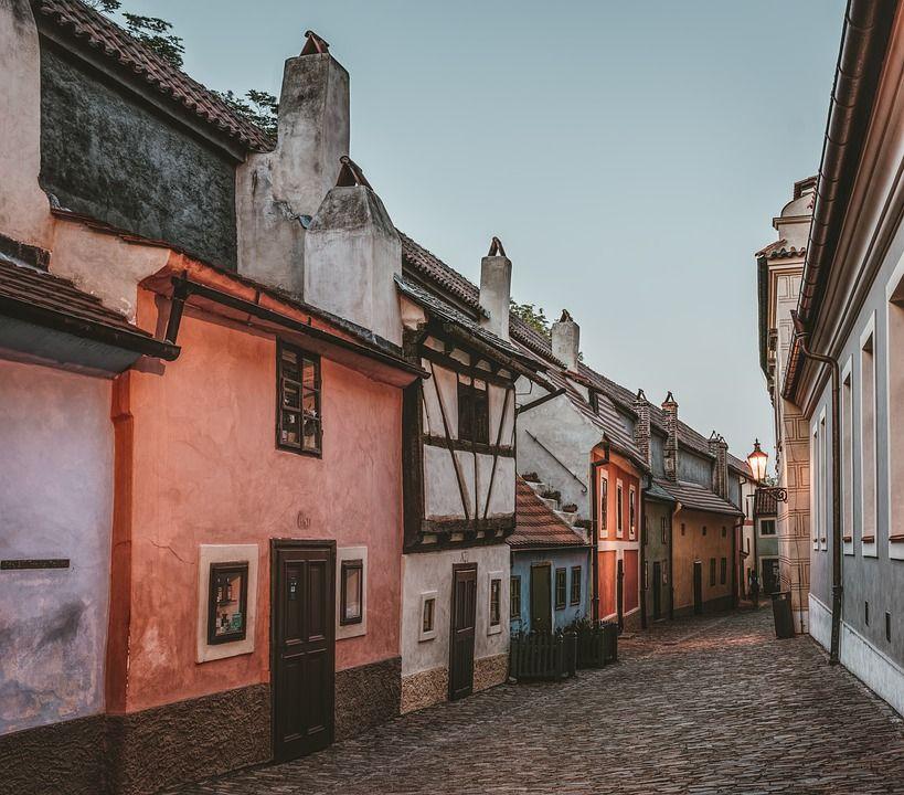Callejón del Oro, Praga