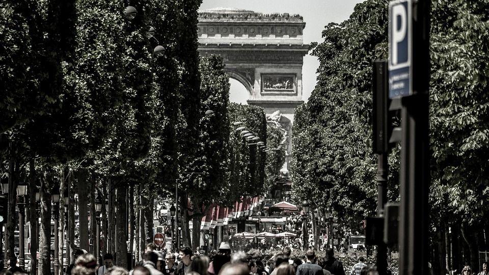 Campos Elíseos, París