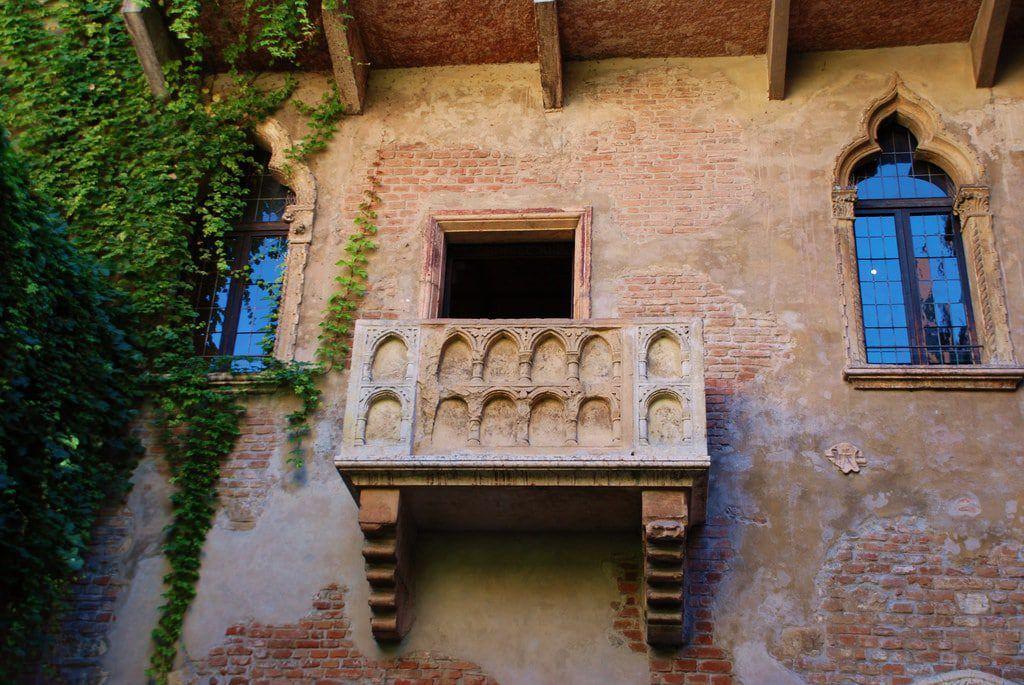 Balcón de Julieta, Verona