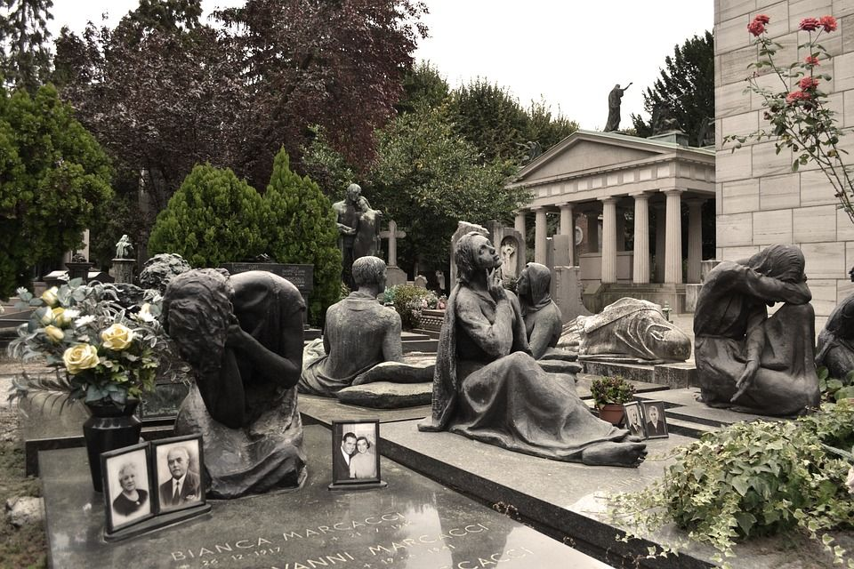 Cementerio Monumental, Milán
