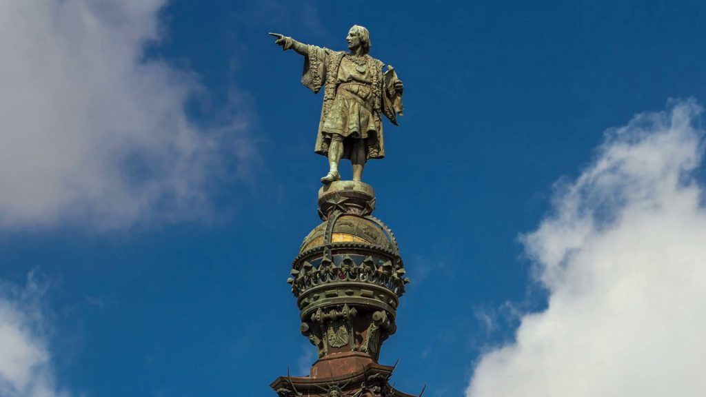 Christopher Columbus monument, Barcelona