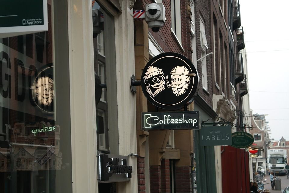 Check out the Coffeshops in Amsterdam