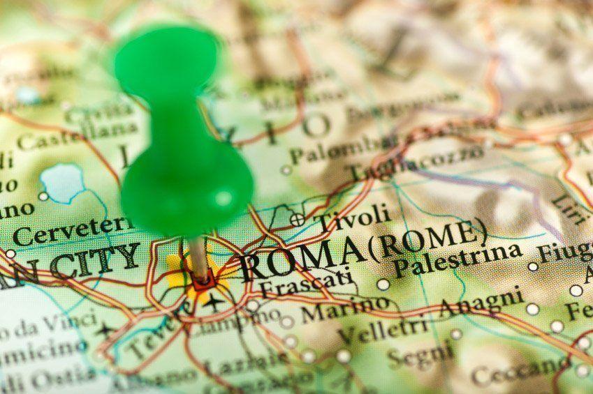 Cómo llegar a Roma en avión, tren, barco o coche