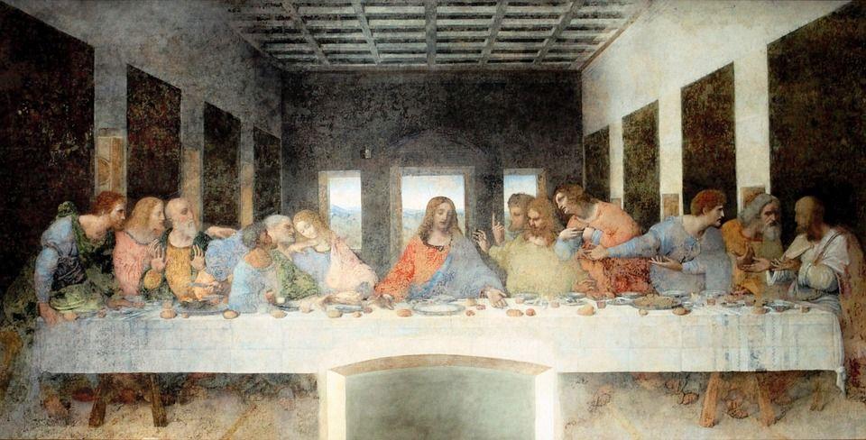 La última cena - Pintura de Leonardo Da Vinci