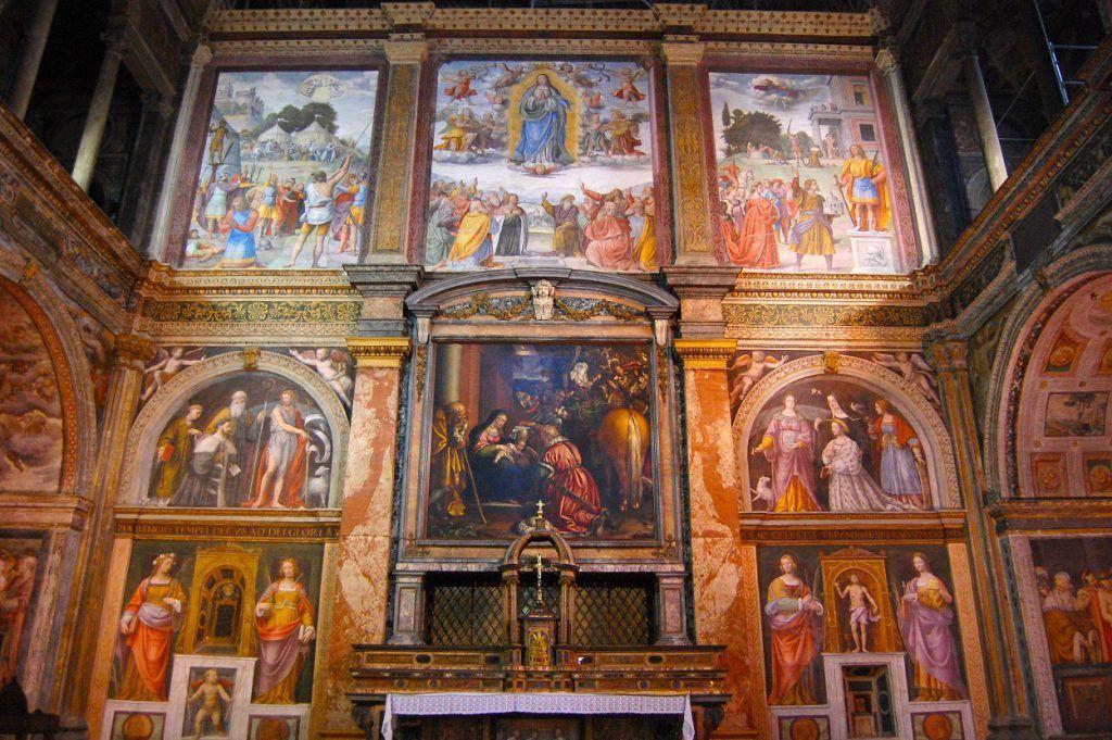 Iglesia de San Maurizio, Milán
