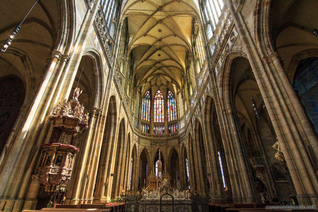 Qué ver y hacer en el Castillo de Praga, interior