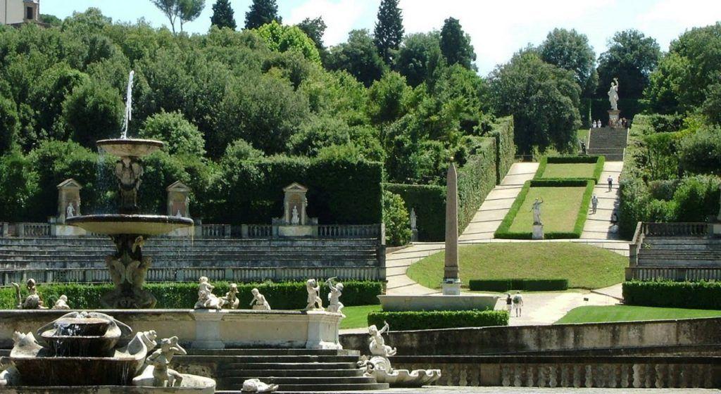 Jardines Boboli, Florencia
