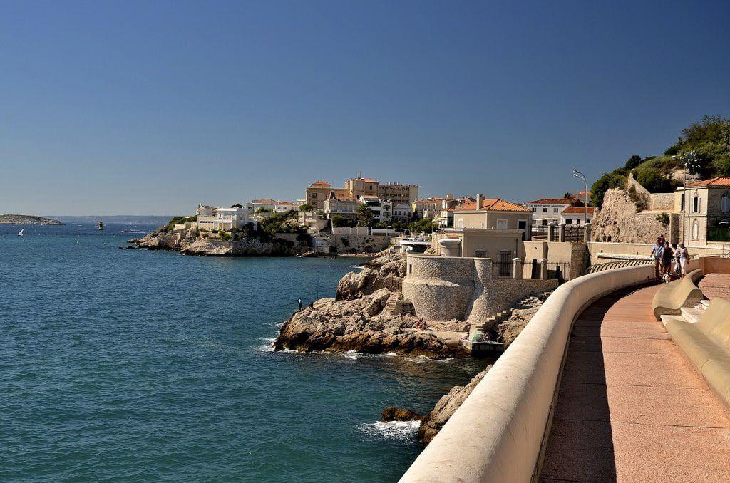 La Corniche, Marsella