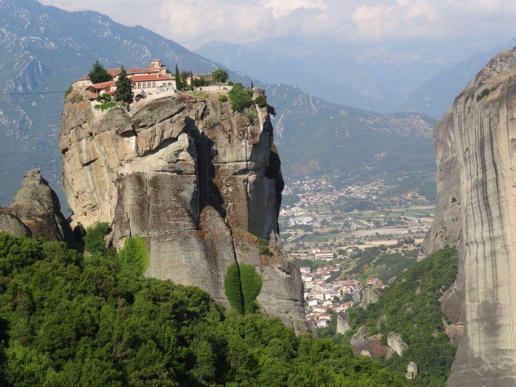 Meteora desde Atenas, Grecia