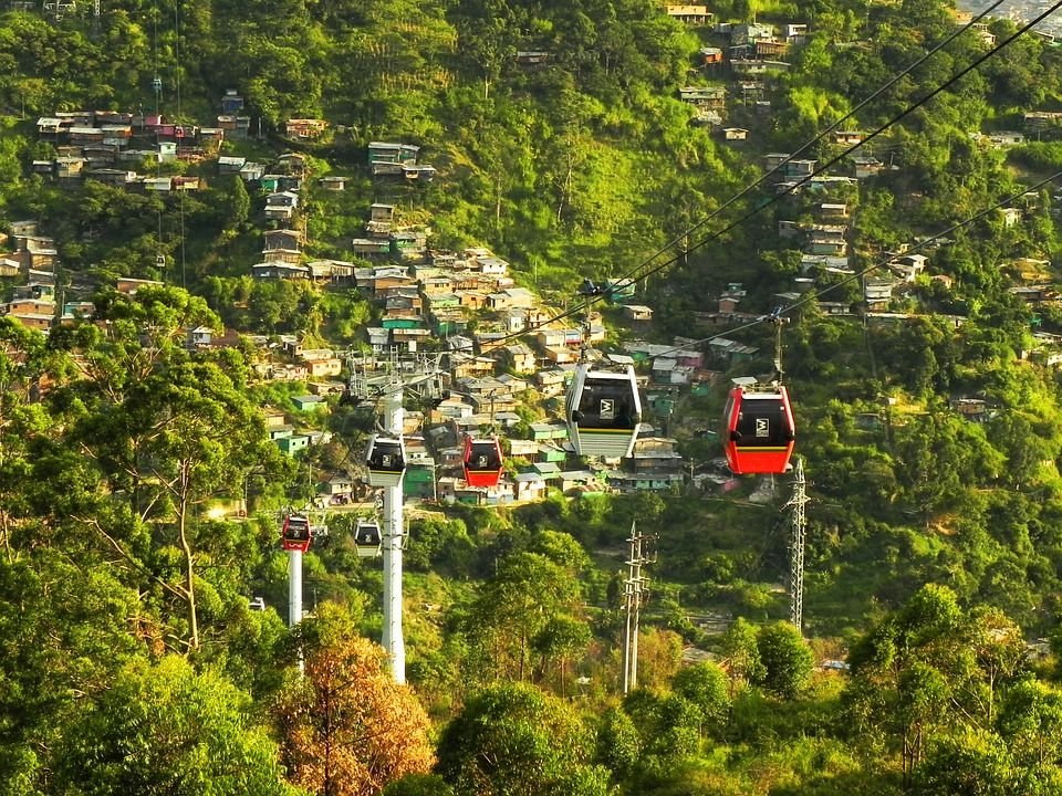 Metrocable (Teleférico), Medellín