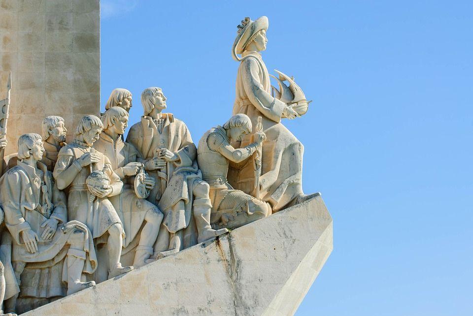 Monumento a los descubrimientos Portugal