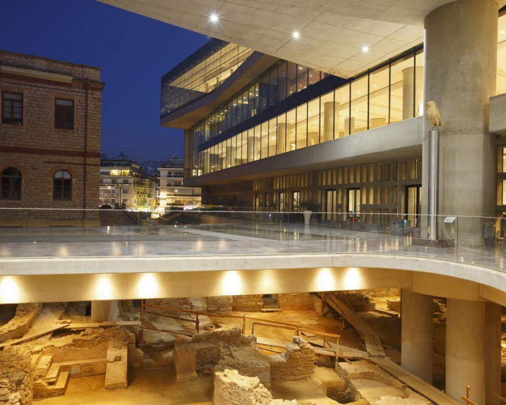 Museo de la Acrópolis, visitar Atenas