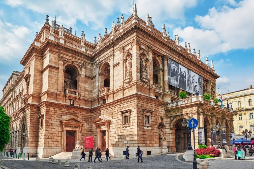 Ópera de Budapest, Hungría