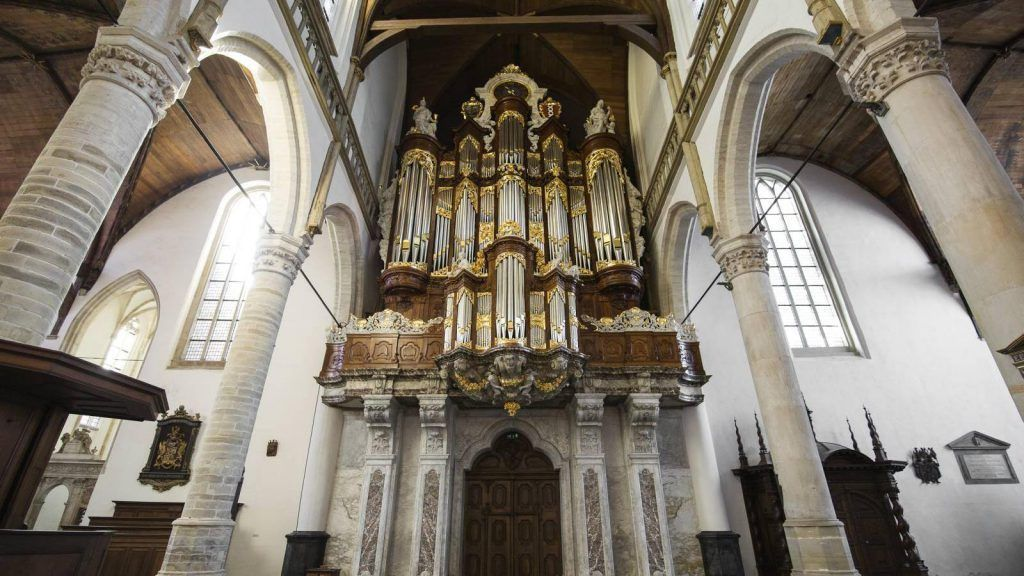 The Oude Kerk Church