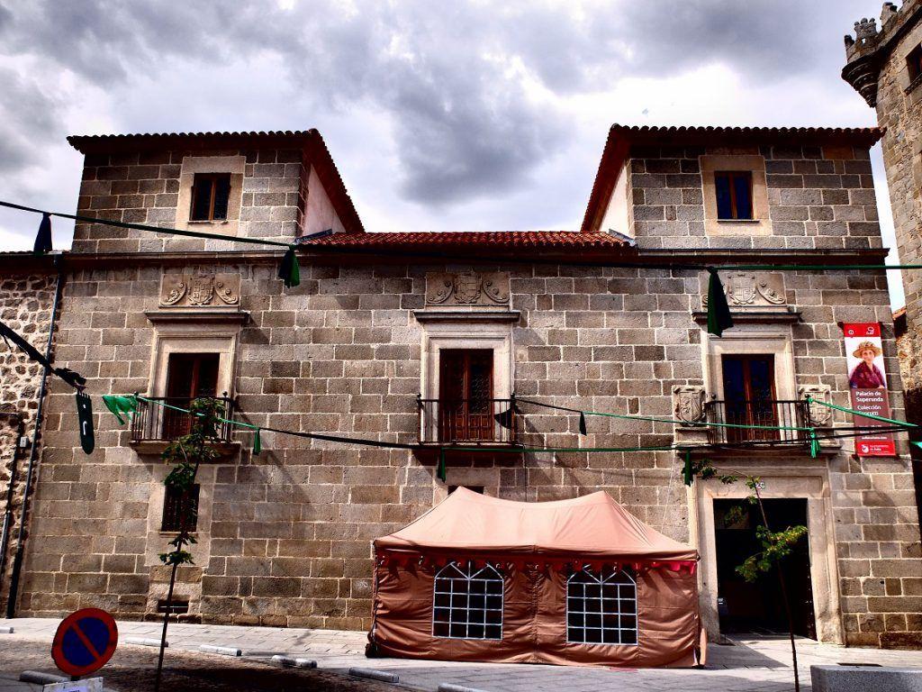 Palacio de Superunda, Ávila