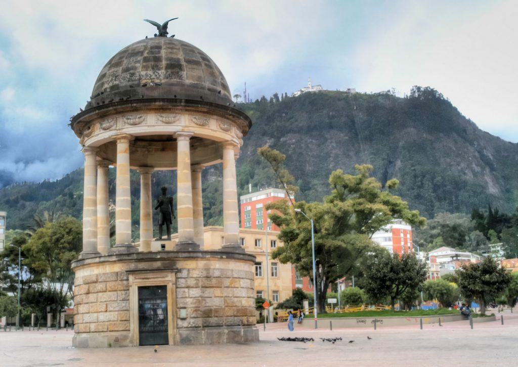 Parque de los Periodistas, Bogotá