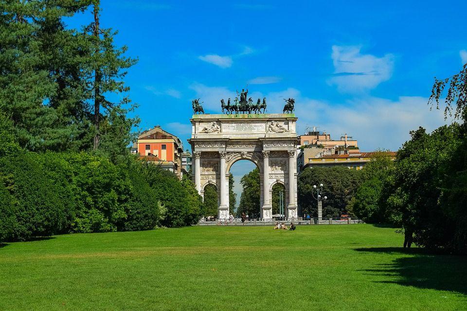 Parque Sempione, Milán