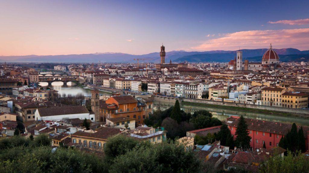 Piazzale Michelangelo, Florencia