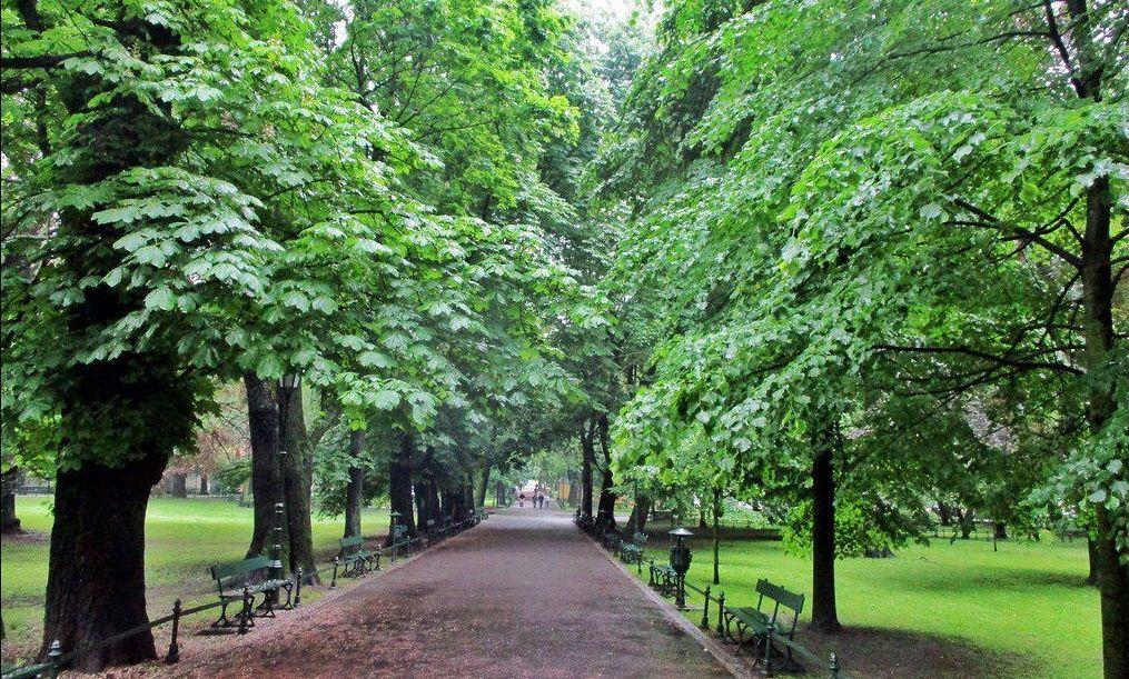 parque de Planty, Cracovia