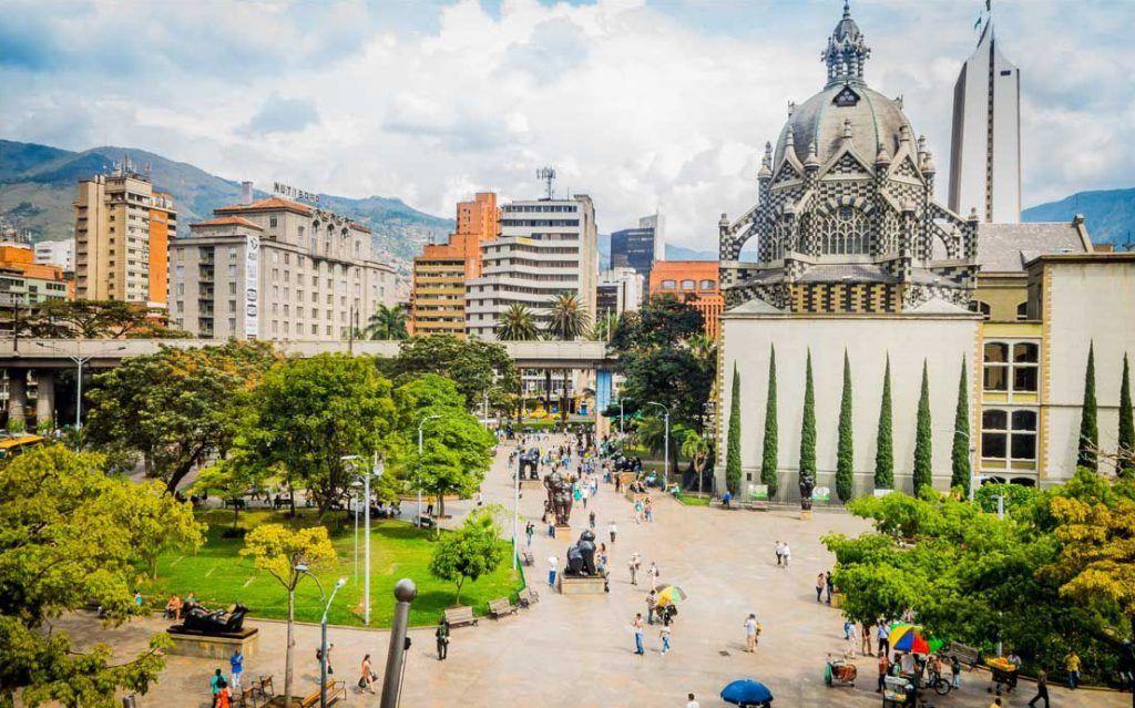 Plaza de Botero (parque de las esculturas), Medellín