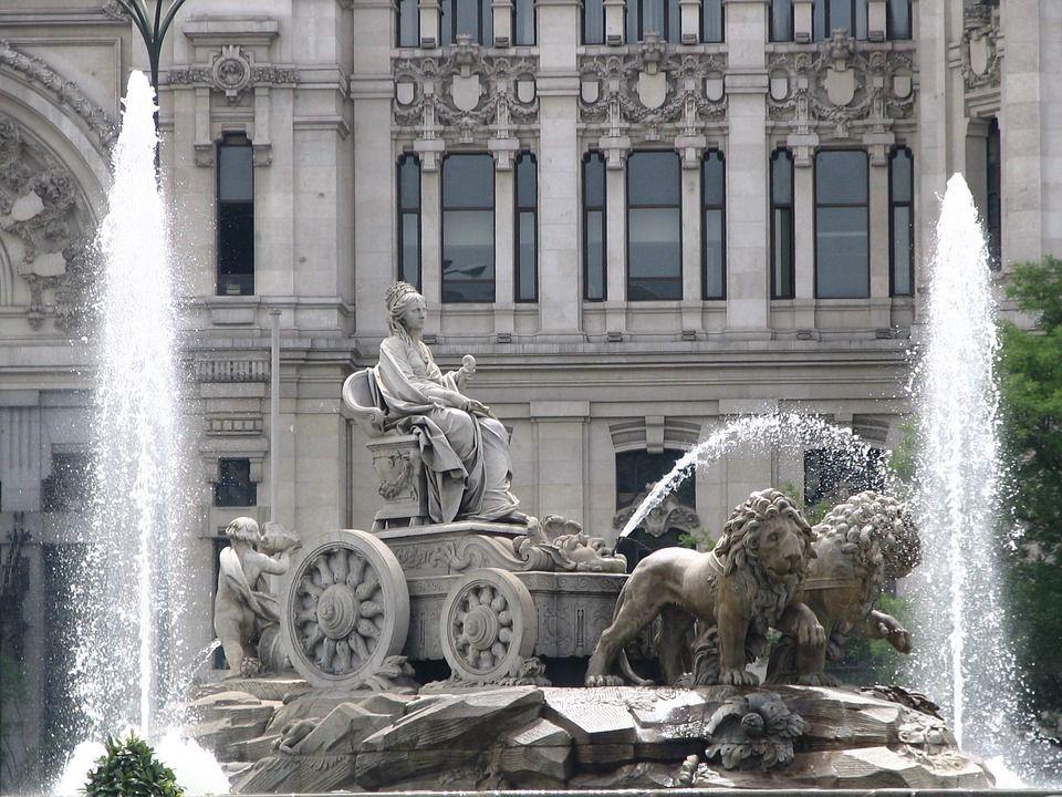Plaza Cibeles, Madrid