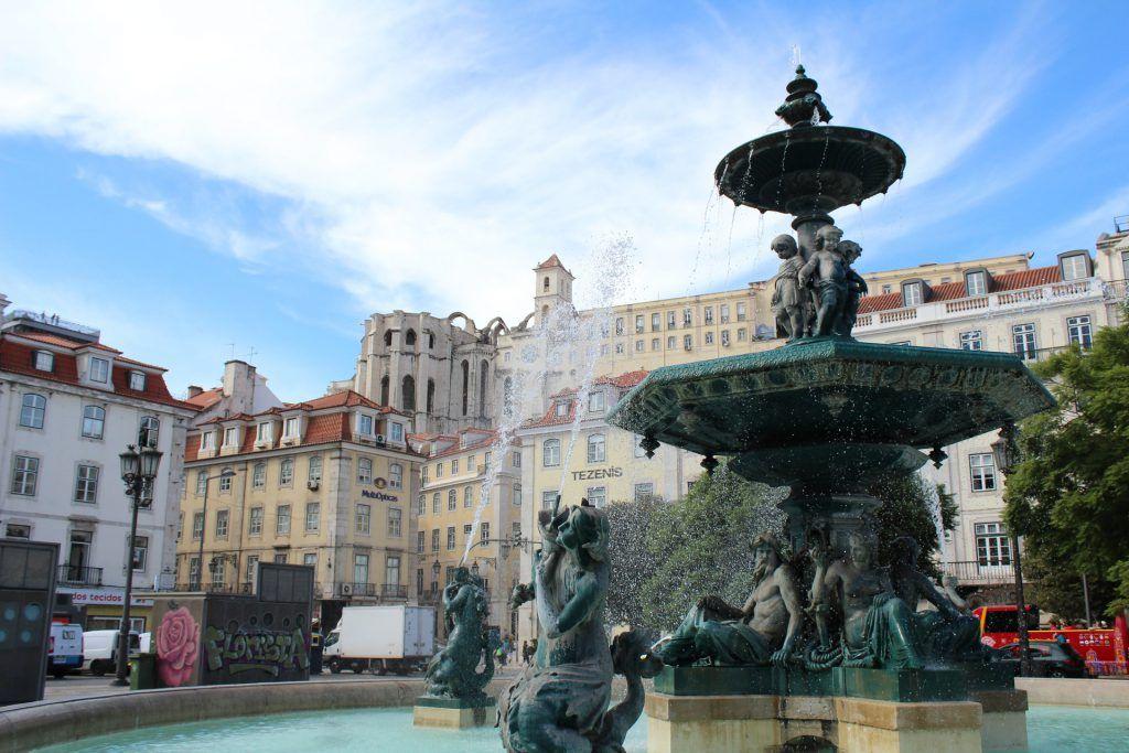 Plaza del Rossio, Lisboa