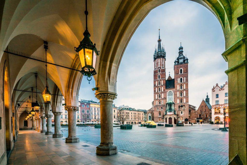 Plaza del Mercado, visitar Cracovia