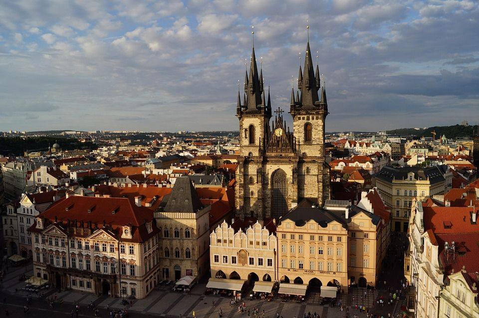 PLaza de Wenceslao, Praga
