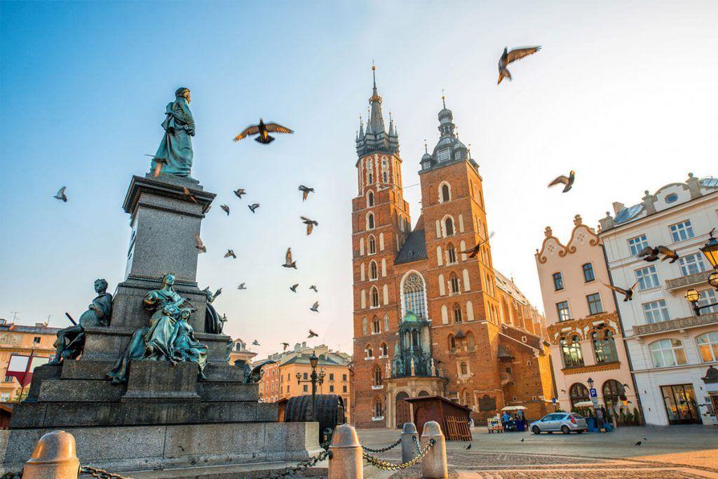 Stare Miasto (Ciudad Antigua), Cracovia