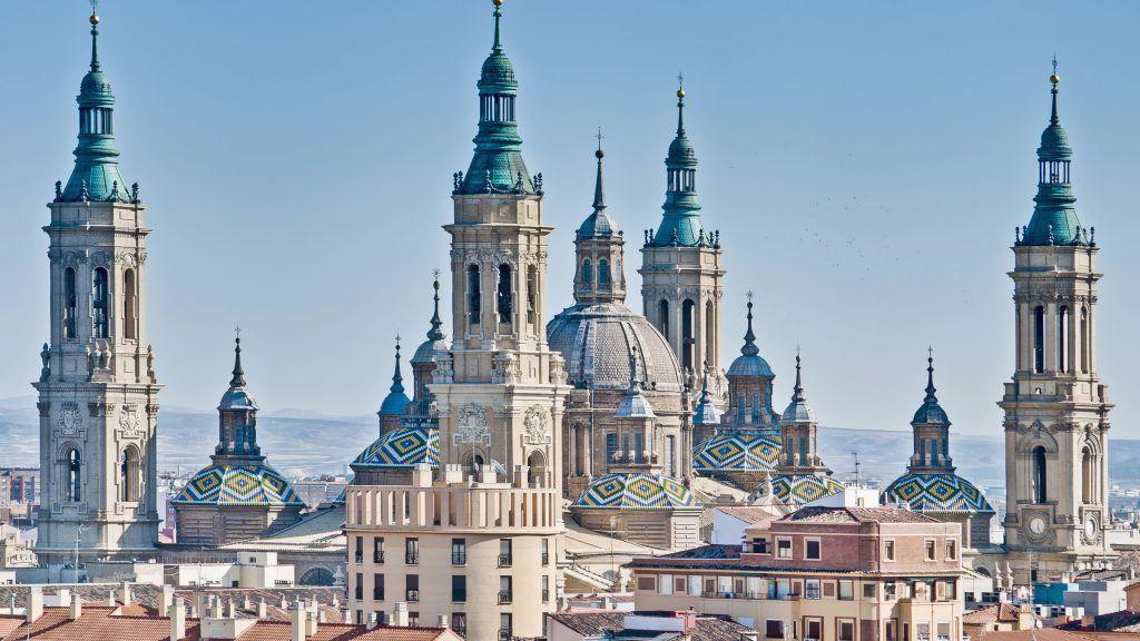 La basílica de Nuestra Señora del Pilar, Zaragoza