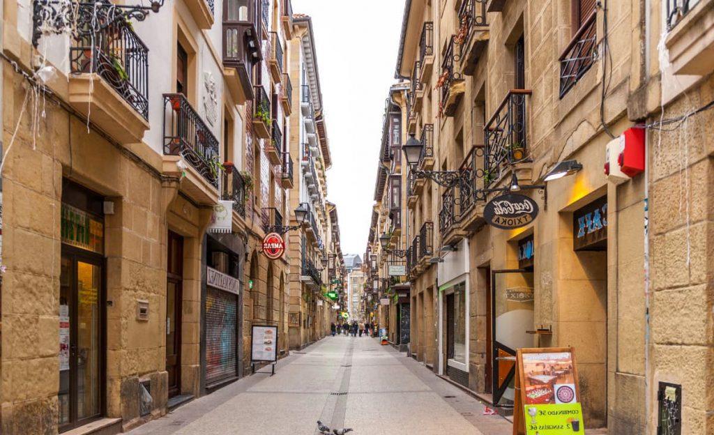 Parte vieja (Casco antiguo Donostia-San Sebastián)