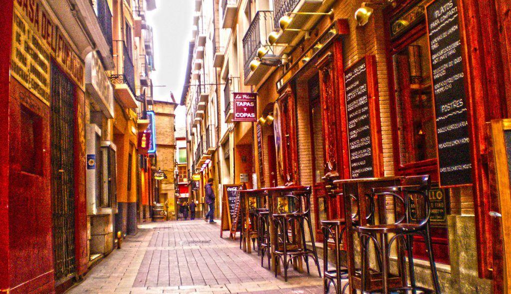 El Tubo, Zaragoza