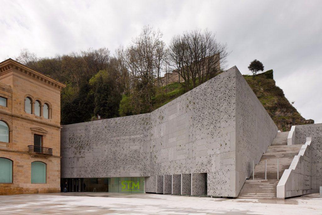 Museo de San Telmo, exterior ampliación Donostia