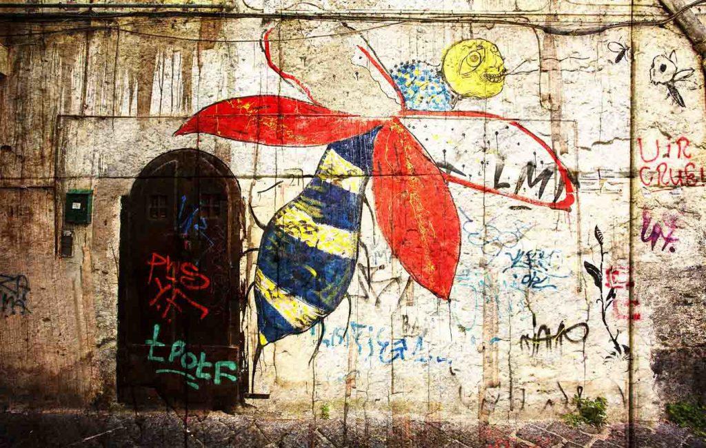 Graffitis por las esquinas