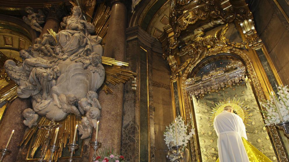 Interior de la Basílica del Pilar