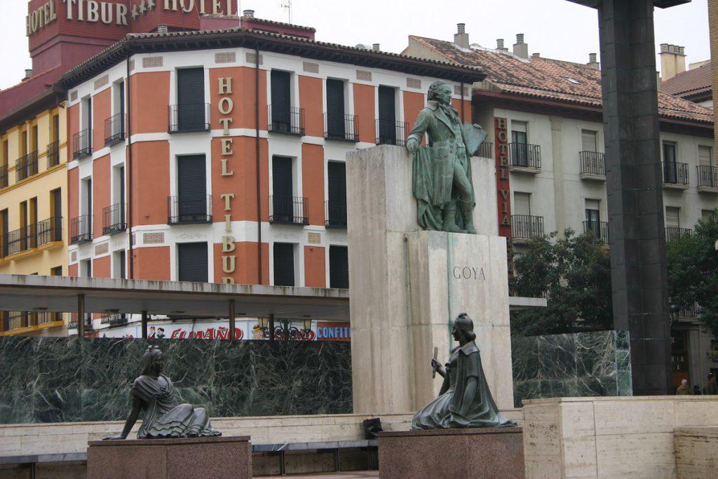 Monumento a Goya, Zaragoza